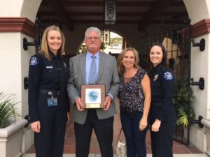 Ditmars Seal Beach City Council Recognition