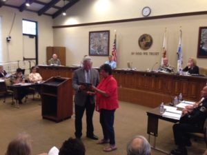 Ditmars Seal Beach City Council Receive